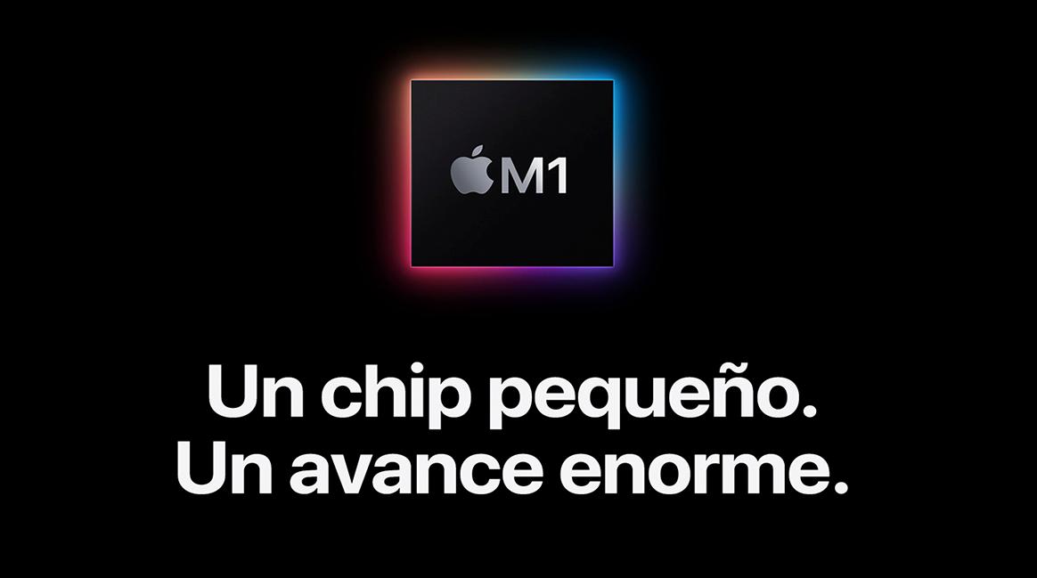 """MacBook con chip Apple M1: nueva definición para el concepto de """"potencia""""."""