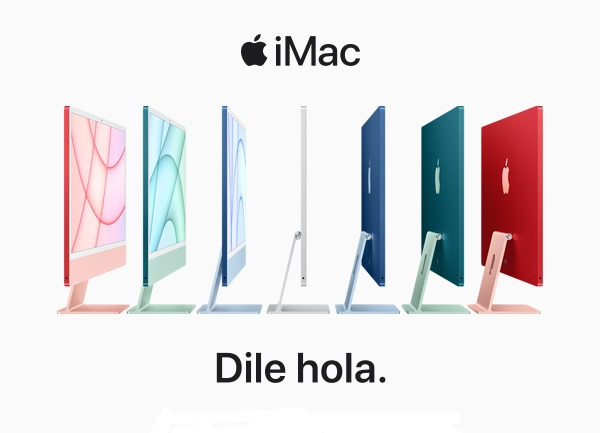 iMac M1, dile hola a la creatividad.